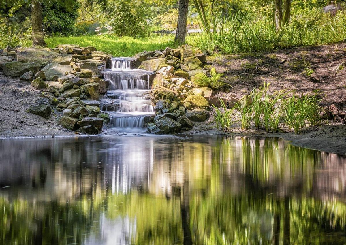 waterval vijver